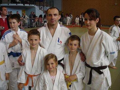 Cherche femme judoka